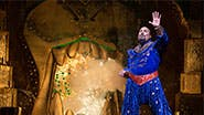 James Monroe Iglehart as the Genie in Aladdin.