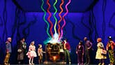 The cast of Charlie and The Chocolate Factory on Broadway