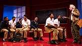 The Cast of Choir Boy on Broadway
