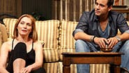 Kate Jennings Grant and Daniel Sunjata as Michael Astor as Nell McNally in 'The Country House'