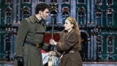 Constantine Germanacos and Altomare in Anastasia on Broadway