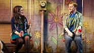Sarah Stiles as Jessica & Steven Boyer as Jason in 'Hand to God'