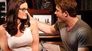 Idina Menzel as Elizabeth & James Snyder as Josh in 'If/Then'