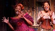 NeNe Leakes as Madame, Keke Palmer as Ella, Ann Harada as Charlotte and Stephanie Gibson as Gabrielle in 'Cinderella'