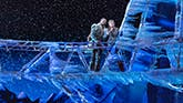 Noah J. Ricketts and Patti Murin in Frozen on Broadway