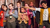 A scene from off-Broadway's 'Puffs, or: Seven Increasingly Eventful Years at a Certain School of Magic and Magic'
