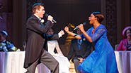 Nick Spangler as Greg & Montego Glover as Annie in 'It Shoulda Been You'