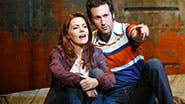 Rachel Tucker and Aaron Lazar in 'The Last Ship'