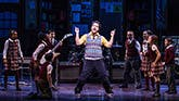 Annabelle Wachtel, Gabrielle Greene, Amadi Chapata, Zachary Zwelling, Justin Collette, Rachel Katzke, Levi Buksbazen, Walden Sullivan in School of Rock – The Musical