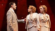 Ryan Silverman as Terry, Emily Padgett as Daisy and Erin Davie as Violet in 'Side Show'