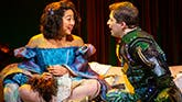 Stephanie Hsu and Will Roland in Be More Chill On Broadway